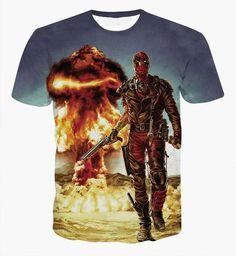 Deadpool 3D Premium Shirt