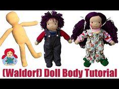 DIY | How to sew a (Waldorf) Doll Body Step by Step | Sami Doll Tutorials - YouTube
