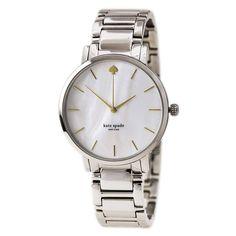 Kate Spade 1YRU0215 Women's Gramercy Grand New York MOP Dial Steel Bracelet Watch - Discount Watch Store