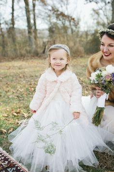 So cute: http://www.stylemepretty.com/georgia-weddings/2015/05/08/rustic-cabin-winter-wedding/   Photography: Amanda Lenhardt - http://www.amandalenhardt.com/