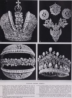 Russian crown jewels article.