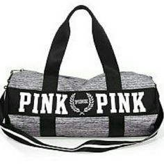NEW!DUFFLE BAG NEW!DUFFLE BAG from Pink by VS Sold most in bundles don't think I have any more left PINK Victoria's Secret Bags Travel Bags