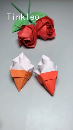 Cool Paper Crafts, Paper Flowers Craft, Paper Crafts Origami, Diy Crafts Life Hacks, Diy Crafts For Gifts, Instruções Origami, Origami And Kirigami, Paper Folding Techniques, Origami For Beginners