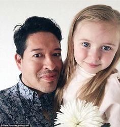 Pai vira sensação na internet ao vestir sua filha de 5 anos com roupas fashion