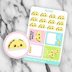 Get these on KawaiiSweetWorld on Etsy