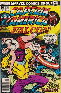 Captain America 211 1st Series 1968 July 1977 Marvel