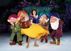 Snow White wishes and Dwarfs 540