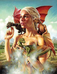 Daenerys Targaryen (The Khaleesi)