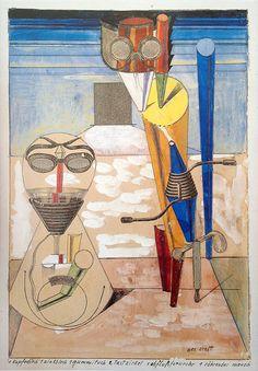 Max Ernst - Ambiguous Figures