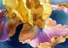 Marney Ward. Watercolour painting