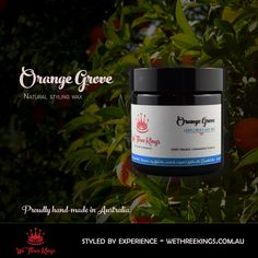 Natural, Australian-made hair wax. Great hold and fragrance. Nothing artificial. We Three Kings, Hair Wax, Beard Oil, Natural Hair Styles, Fragrance, Health, Nature, Naturaleza, Health Care