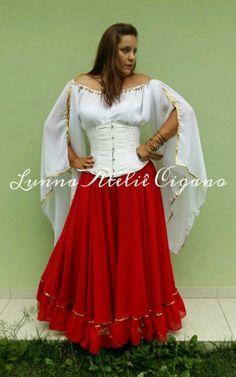 BLUSA MANGA SUPER LONGA - loja online Cute Fashion, Skirt Fashion, Gypsy, Ideias Fashion, Ballet, Cosplay, Costumes, My Style, Skirts