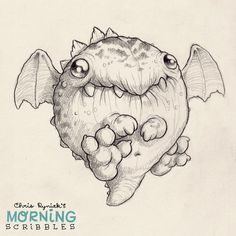 Dwagon #morningscribbles