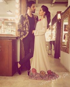 SeeAiman Khan and Muneeb Butt at 'Tonight With HSY'
