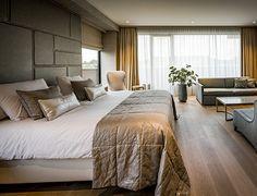 Nijboer - Suite Van der Valk hotel Enschede #hotel #interieur #bed #slaapkamer