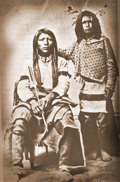 Unidentified Shoshone men. No date, or location.