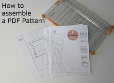 Assembling a PDF Pattern at home  3/31/14 - PatternReview.com Blog