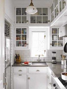 cocinas vintage pequeñas - Buscar con Google