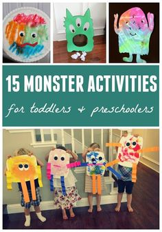 Toddler Approved!: 15 Monster Activities for Toddlers and Preschoolers