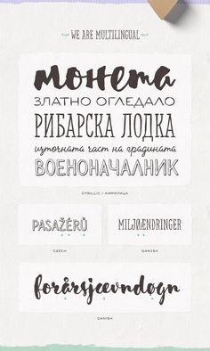 Лучшие кириллические шрифты