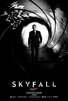 The teaser poster for the 23rd James Bond film SKYFALL was released worldwide today.