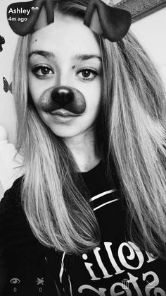 The puppy filter is always my fav🙈👻🐶