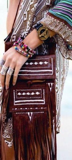 Boheme style / hippie style