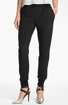 Wayf Track Pants available at #Nordstrom under $70 tho dry clean only but drape beautifully.  Greet reviews too