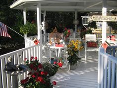 Backyard gazebo/  Home Sweet Home. Is extra special because I know the Queen of this place and have been here!