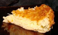 Fast and Easy Coconut Custard Pie from Food.com