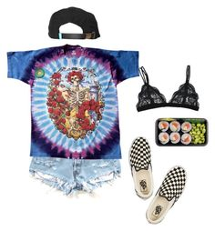"""I have finals tomorrow & can't sleep"" by aliennbby ❤ liked on Polyvore featuring Vans and King Apparel"