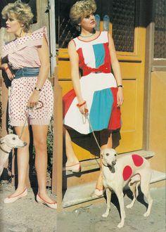 Glossy Sheen: On the Spot - Dolly September 1982