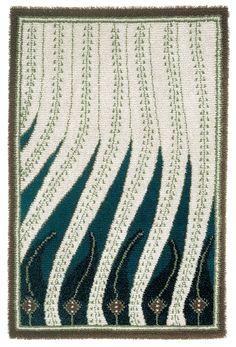 """Liekki"" by Akseli Gallen-Kallela in 1900 //my inspiration // Hanna Sarén ""Geometry"" AW13 collection"