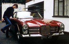 Ringo Starr and his Facel Vega II ('65)