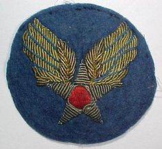 Bullion Patch, Army Air Forces Air Force Patches, Army Patches, Military Insignia, Felt Embroidery, Custom Patches, Nose Art, Cold War, Us Army, Badges