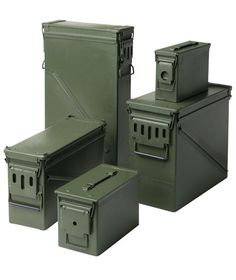 ammo box storage - air-tight, water-tight, stackable, and sturdy as hell