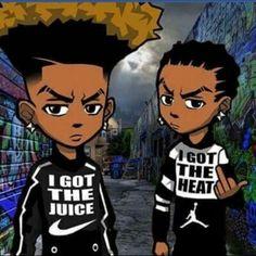 Black Cartoon, Cartoon Art, Black Women Art, Black Art, Ayo And Teo
