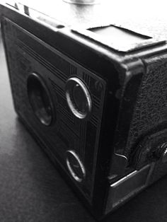 My grandfather's old brownie camera