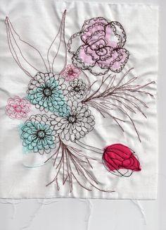 Emma Elizabeth Clease: Free Machine Embroidery