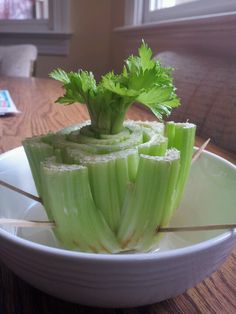 Grow your own celery from leftover scraps with this tutorial: http://homeguides.sfgate.com/grow-celery-kitchen-scraps-40008.html