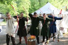Medieval Games, bow and arrow - Noorderwind