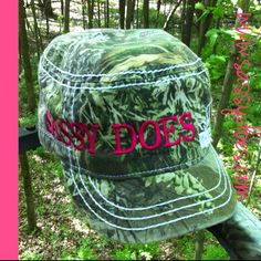 Sassy Does Military Style Realtree Max-1 Hat  Order today @www.sassydoes.com  #sassy #does #realtreecamo #hiking #hunt #deer #turkey #hats #getsassy #shopsassydoes