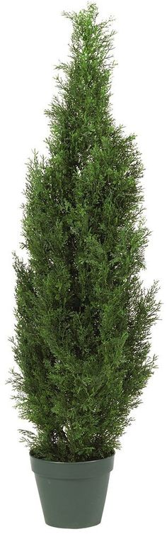 Nearly Natural 5172 Cedar Silk Tree, 4-Feet, Green * Want additional info? Click on the image. (This is an affiliate link) #HomeDecorIdeas