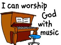 I can worship God with music lesson and activity ideas from Preschool Post