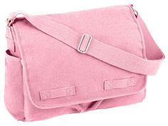 066cc1566f54 pink messenger bag classic messenger bags in pink  27.08 heavyweight  canvas. 2 inch wide adjustable