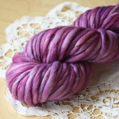 Super excited!  The softest, most pillowy, super bulky merino wool in a super duper bulky yarn, hand dyed by Phydeaux!  Perfect for Phydeaux super chunky accessory knitting patterns.