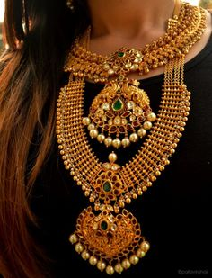 Beautifully crafted Indian Jewellery pieces
