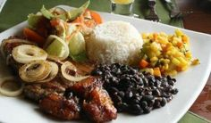 Casado de CostaRica..... A typical meal served to men once they are married (casado)!
