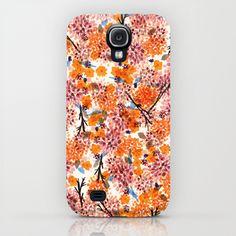 Autumn Floral iPhone & iPod Case
