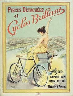 https://flic.kr/p/dUL1Y9 | Cycles Brillant | Exposition Universelle 1900